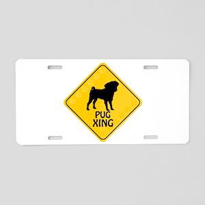Pug Xing Aluminum License Plate