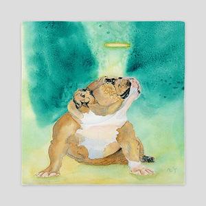 Bulldog Rufus Queen Duvet