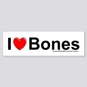 Bones Sticker (Bumper)