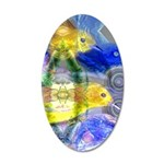 Nature Reflections I 20x12 Oval Wall Decal