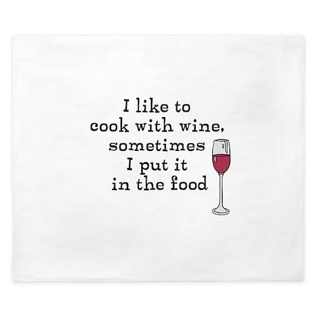 Wine King Duvet
