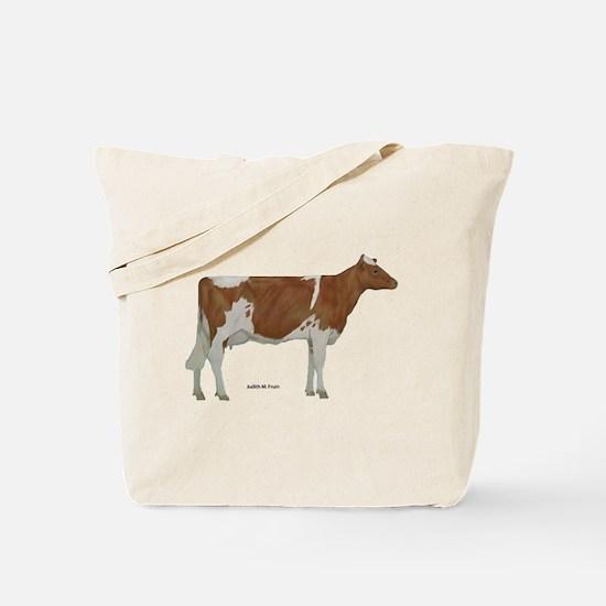 Guernsey Milk Cow Tote Bag