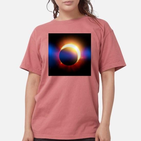 Solar Eclipse Womens Comfort Colors Shirt