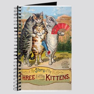Three Little Kittens Lost Their Mittens Journal