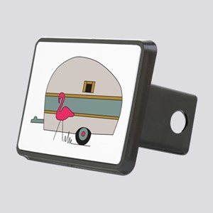 Camper Flamingo Hitch Cover