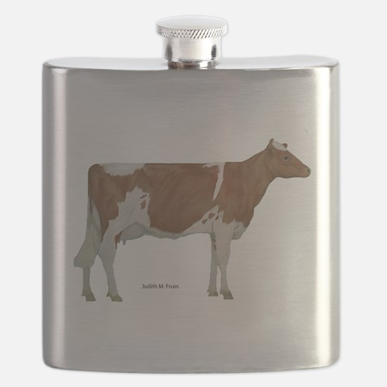 Guernsey Milk Cow Flask