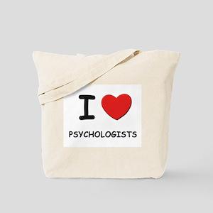 I love psychologists Tote Bag