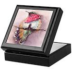 Wine-throated Hummingbird Keepsake Box