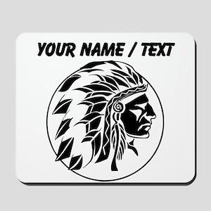 Custom Native American Headdress Mousepad