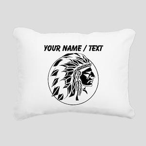 Custom Native American Headdress Rectangular Canva