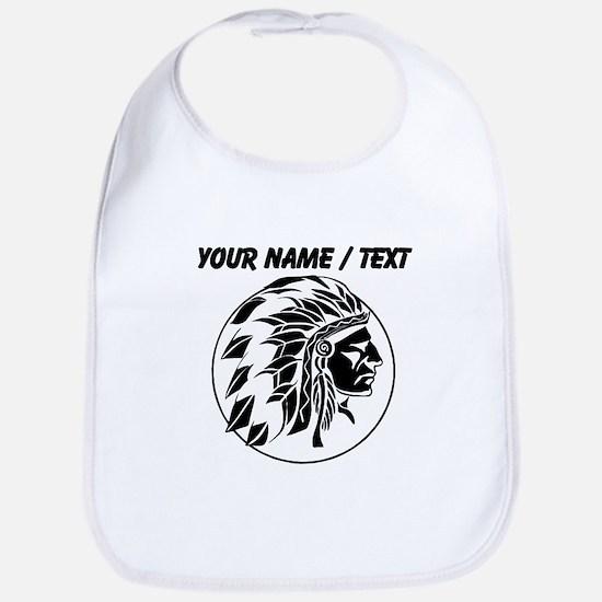 Custom Native American Headdress Bib