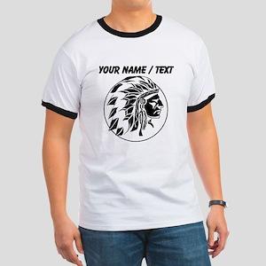 Custom Native American Headdress T-Shirt