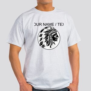 Custom Native American Headdress T-Shirt