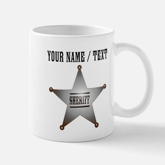 Custom Sheriff Badge Mug
