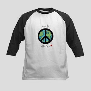 World Peace Earth day 2013 design Baseball Jersey