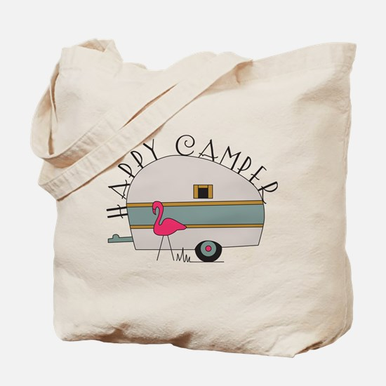Happy Camper Tote Bag