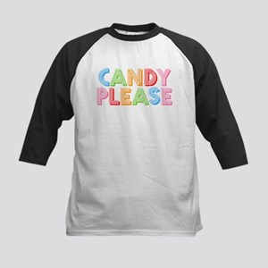 Candy Please I Love Candy Kids Baseball Jersey