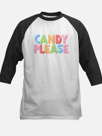 Candy Please I Love Candy Kids Baseball Jersey