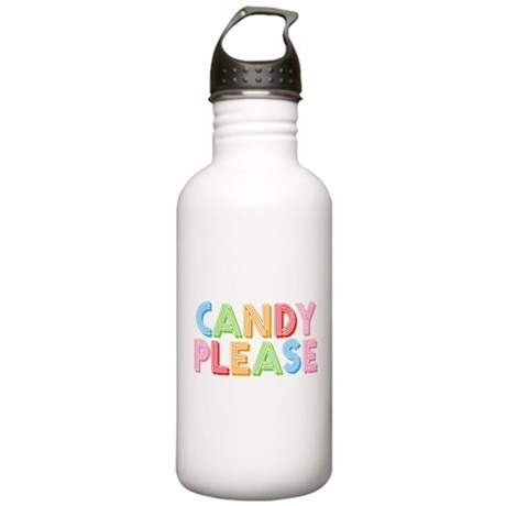 Candy Please I Love Candy Stainless Water Bottle 1