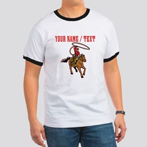 Custom Cowboy With Lasso T-Shirt