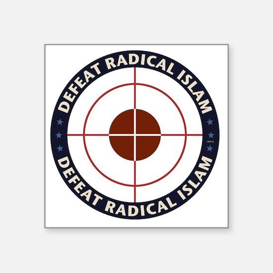 Defeat Radical Islam Sticker