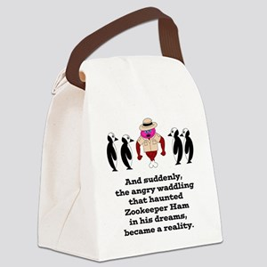 Zookeeper Ham Canvas Lunch Bag