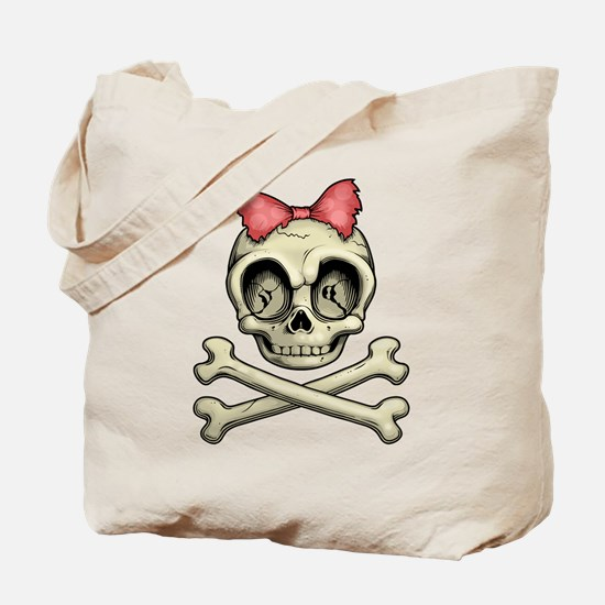 Betty Bones Tote Bag