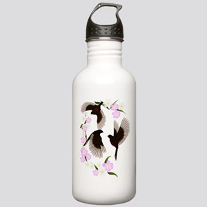 Three Sparrows Trans Water Bottle
