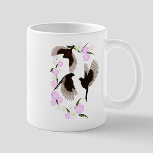 Three Sparrows Trans Mug