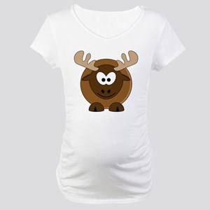 Happy Moose Maternity T-Shirt