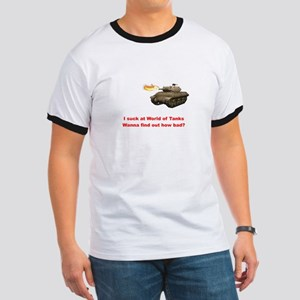 I suck at World of Tanks T-Shirt