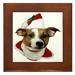 JRT Christmas Santa Framed Tile