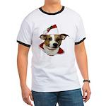 JRT Christmas Santa Ringer T