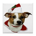 JRT Christmas Santa Tile Coaster