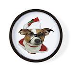 JRT Christmas Santa Wall Clock