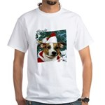 Santa Jack White T-Shirt