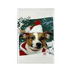 Santa Jack Rectangle Magnet