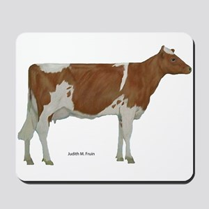 Guernsey Milk Cow Mousepad