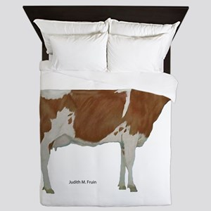Guernsey Milk Cow Queen Duvet