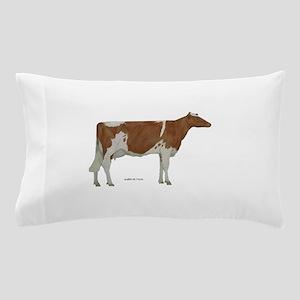 Guernsey Milk Cow Pillow Case