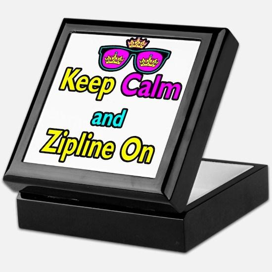 Crown Sunglasses Keep Calm And Zipline On Keepsake