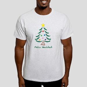 Feliz Navidad Tree Light T-Shirt