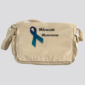 Child Abuse Messenger Bag