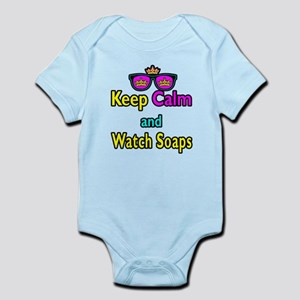 Crown Sunglasses Keep Calm And Watch Soaps Infant