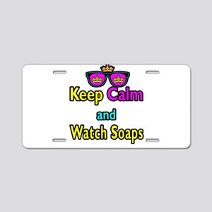 Crown Sunglasses Keep Calm And Watch Soaps Aluminu