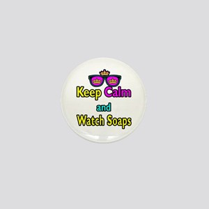 Crown Sunglasses Keep Calm And Watch Soaps Mini Bu