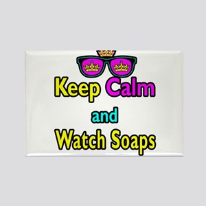Crown Sunglasses Keep Calm And Watch Soaps Rectang