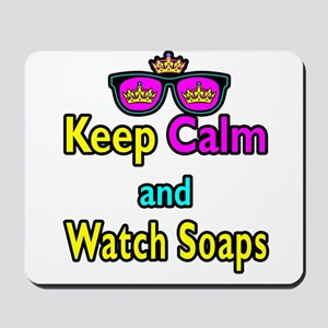 Crown Sunglasses Keep Calm And Watch Soaps Mousepa