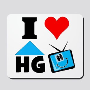 I Love HGTV Mousepad