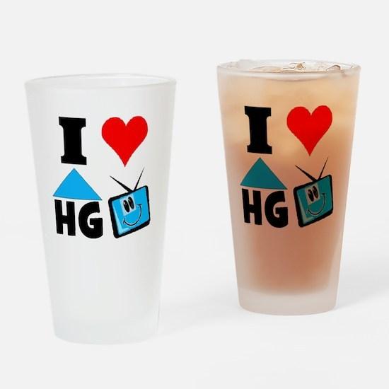 I Love HGTV Drinking Glass